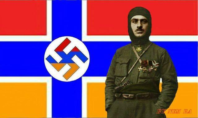 Image result for fascist Garegin Nzhdeh